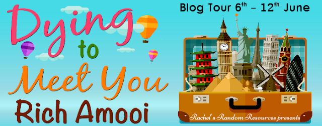 Blog Tour Review:  Dying to Meet You by Rich Amooi
