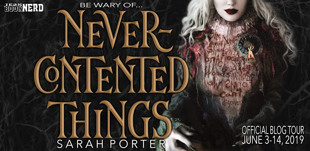Blog Tour Review with Giveaway:  Never-Contented Things by Sarah Porter