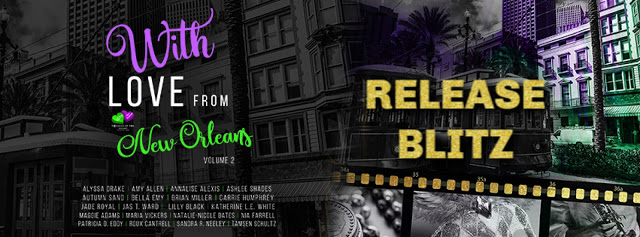 Release Blitz:  With Love From New Orleans – Voyages of the Heart Series Volume 2