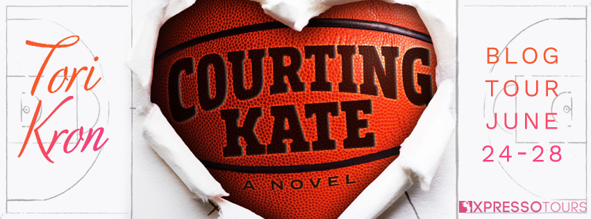 Blog Tour Review with Giveaway:  Courting Kate (Panther Players #1) by Tori Kron