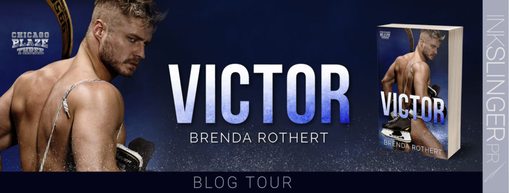 Blog Tour Review:  Victor (Chicago Blaze #3) by Brenda Rothert