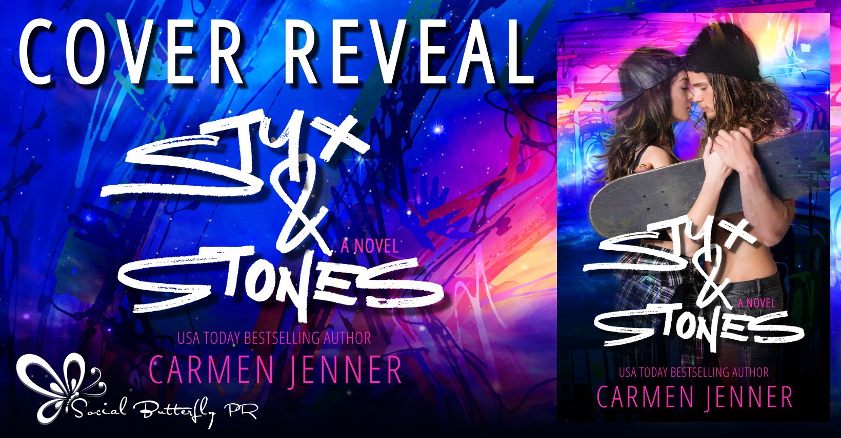 Cover Reveal:  Styx and Stones by Carmen Jenner
