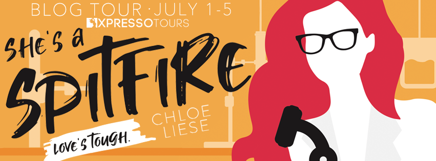 Blog Tour Review with Giveaway:  She's a Spitfire (Tough Love #2) by Chloe Liese