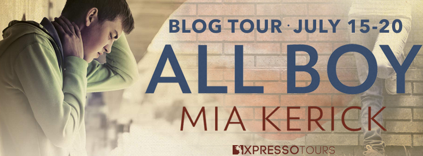 Blog Tour Review with Giveaway:  All Boy by Mia Kerick