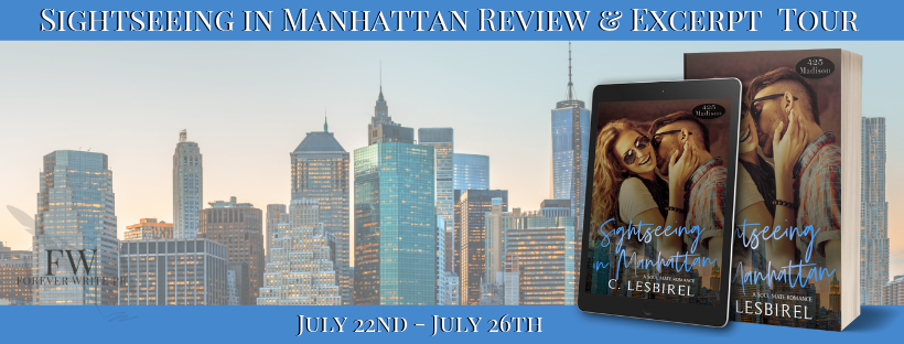 Release Tour Review:  Sightseeing in Manhattan (425 Madison #9) by C. Lesbirel