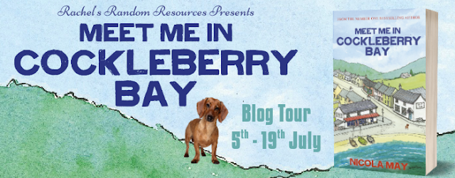 Blog Tour with Author Interview and Giveaway:  Meet Me In Cockleberry Bay (Cockleberry Bay #2) by Nicola May