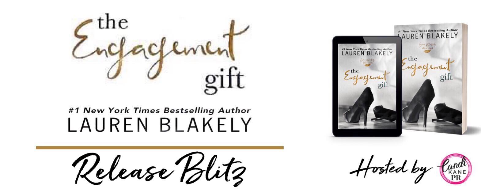 Release Blitz:  The Engagement Gift by Lauren Blakely