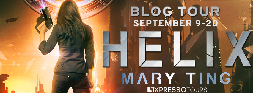 Blog Tour Author Interview with Giveaway:  Helix (International Sensory Assassin Network #2) by Mary Ting
