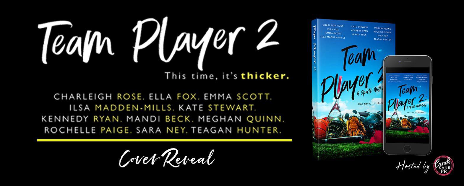 Cover Reveal:  Team Player 2 Anthology