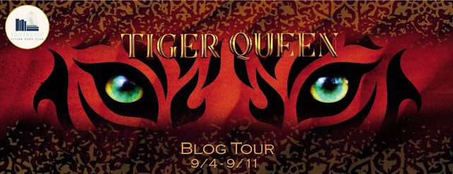 Blog Tour Review with Author Interview and Giveaway:  Tiger Queen by Annie Sullivan