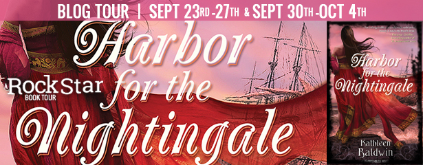 Blog Tour Review with Giveaway:  Harbor for the Nightingale (Stranje House #4) by Kathleen Baldwin