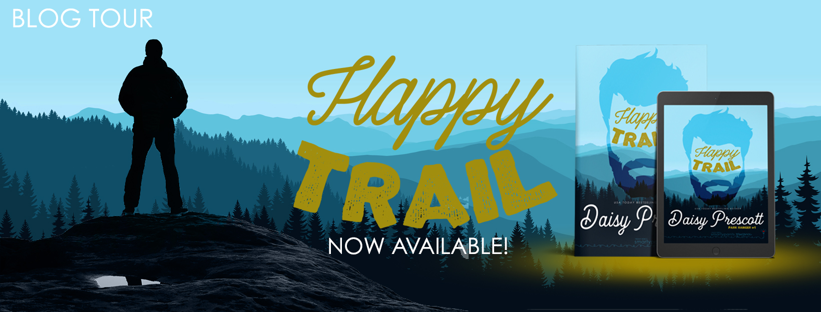 Blog Tour Review with Excerpt:  Happy Trail (Park Ranger #1) by Daisy Prescott
