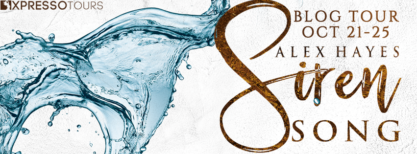 Author Interview with Giveaway:  Siren Song (The Chameleon Effect #3) by Alex Hayes