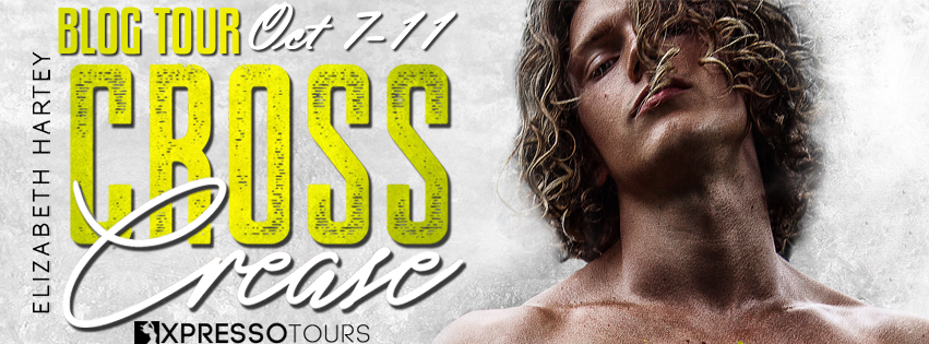Blog Tour Author Interview:  Cross Crease (On the Edge #3) by Elizabeth Hartey
