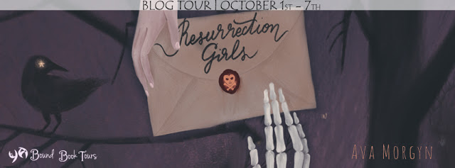 Blog Tour Author Interview with Giveaway:  Resurrection Girls by Ava Morgyn