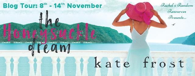 Blog Tour with Giveaway:  The Honeysuckle Dream (The Butterfly Storm #3) by Kate Frost
