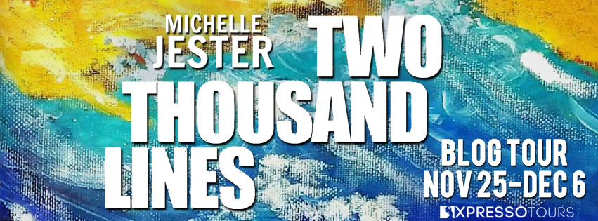 Blog Tour Author Interview with Giveaway:  Two Thousand Lines by Michelle Jester
