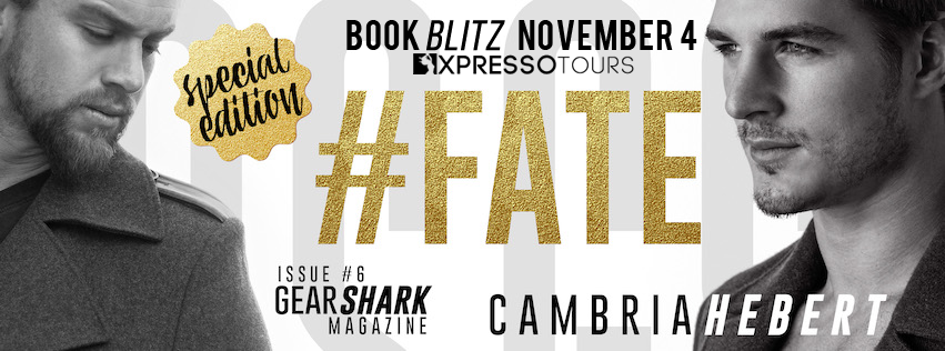 Book Blitz with Giveaway:  #Fate (GearShark #6) by Cambria Hebert