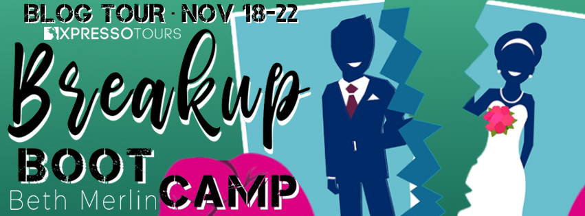 Blog Tour Review with Giveaway:  Breakup Boot Camp by Beth Merlin