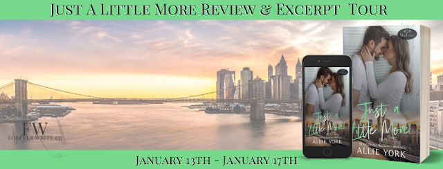 Release Tour:  Just a Little More (425 Madison Ave. #10) by Allie York