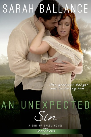 ARC REVIEW OF AN UNEXPECTED SIN BY SARAH BALLANCE