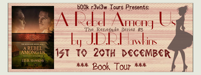 BOOK TOUR: A REBEL AMONG US by J.D.R. HAWKINS