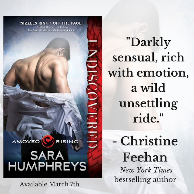 GUEST POST and GIVEAWAY: UNDISCOVERED by SARA HUMPHREYS