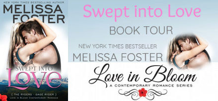 BOOK REVIEW TOUR: SWEPT INTO LOVE by MELISSA FOSTER
