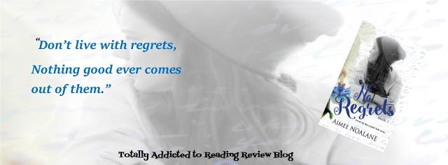 BOOK REVIEW: NO REGRETS by AIMEE NOALANE @AimeeNoalane @QuirkyBlindDate
