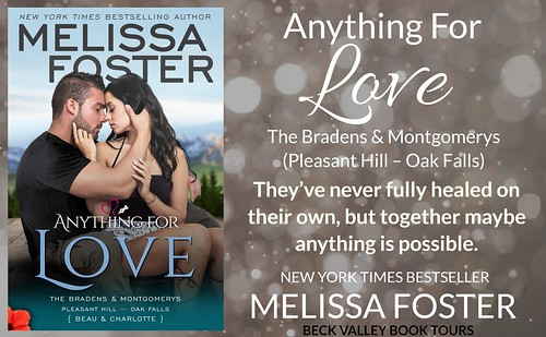 REVIEW TOUR: ANYTHING FOR LOVE by MELISSA FOSTER @Melissa_Foster  @beckvalleybooks  #Contemporary #Romance