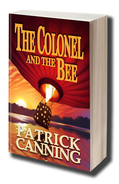 GUEST POST and EXCERPT: PATRICK CANNING AUTHOR OF THE COLONEL AND THE BEE