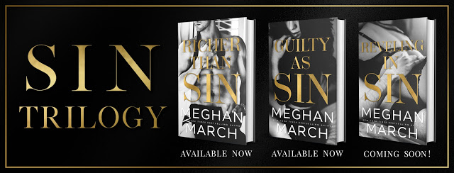 BOOK REVIEW TOUR: GUILTY AS SIN by MEGHAN MARCH @Meghan_March @InkSlingerPR #ContemporaryRomance