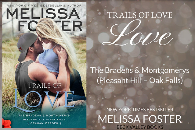 REVIEW TOUR: TRAILS OF LOVE by MELISSA FOSTER @Melissa_Foster @beckvalleybooks  #Contemporary #Romance