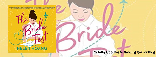 AUDIO BOOK REVIEW: THE BRIDE TEST by HELEN HOANG  @HHoangWrites Narrator: EMILY WOO WELLER #ContemporaryRomance